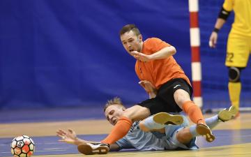 Нарвские футзалисты вышли в финал чемпионата Эстонии