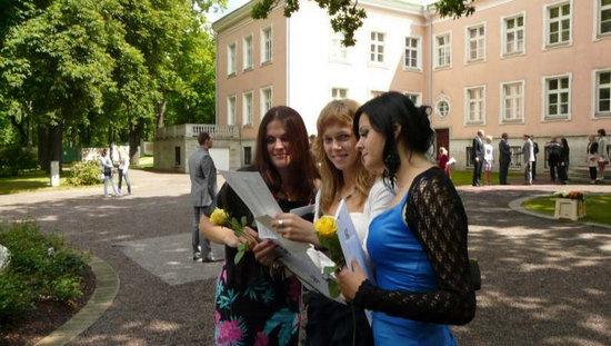 В нынешнем году нарвские школы заканчивает 41 медалист