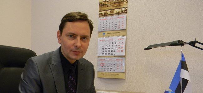 Вице-мэр Нарвы Максим Волков подал в отставку