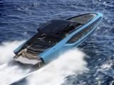 Роскошная моторая яхта, созданная в сотрудничестве с дизайнерами Lamborghini
