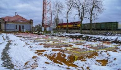 Строительство нового вокзала в Нарве отстает от графика