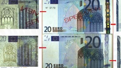 В прошлом году в Эстонии обнаружила в два раза больше поддельных евро, чем раньше