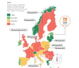 В Европе самых больших успехов в повышении безопасности движения добилась Эстония