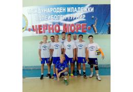 Нарвские волейболисты «забронзовели» в Болгарии