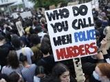 Париж присоединился к американским протестам против полицейского насилия