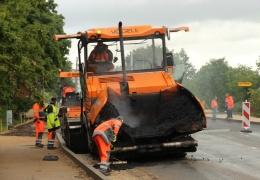 В Нарве стартовали крупные дорожные работы, дорожное движение затруднено