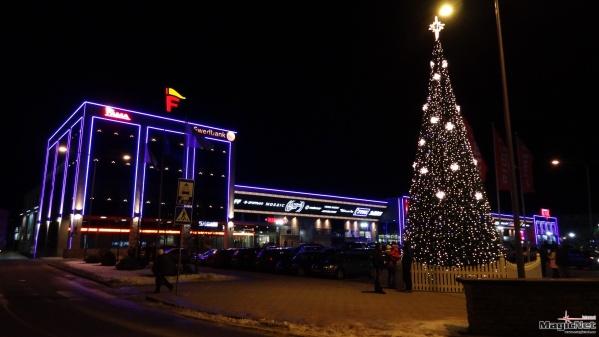 Narva Fama Keskus фейерверк 2016