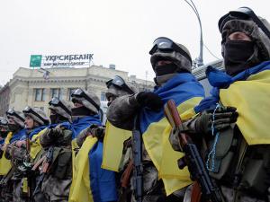 Верховная рада Украины разрешила командирам ВСУ стрелять в дезертиров и подчиненных, не убивая их