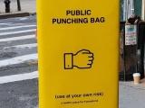 Общественные груши для битья как способ борьбы с гневом и агрессией горожан