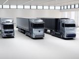 Полуконцепт тягача Mercedes-Benz GenH2 на жидком водороде