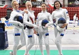 Эстонские шпажистки стали вторыми на этапе Кубка мира в Лугано