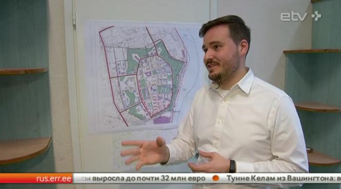 Нарвские власти запрещают предпринимателю строить гостиницу в Старом городе