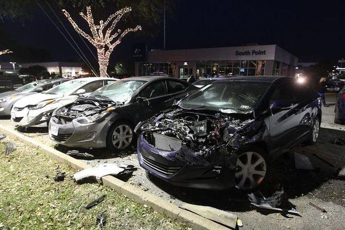Как разбить 18 новых Hyundai на $700 тысяч