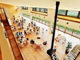 Детский сад из натуральных материалов в Японии