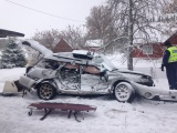 В Пярнумаа при аварии грузовика и легкового автомобиля погиб гражданин Италии