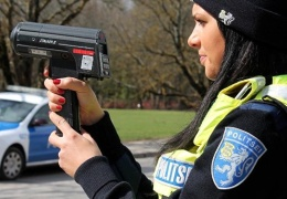 Полиция по всей стране ловит превышающих скорость