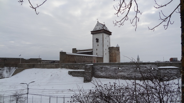 В спор о будущем облике Нарвского замка вмешалось Министерство культуры