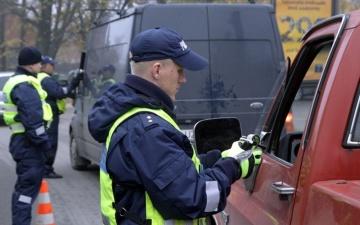 Председательство в Совете ЕС оставило полиции меньше времени для выявления пьяных водителей