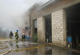 В Кивиыли сгорела сауна