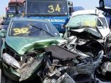 Авария в Великобритании с участием 130 автомобилей