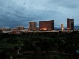 Пустой Лас-Вегас во время карантина