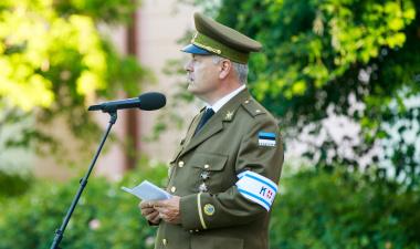 Пыллуаас в День победы призвал помнить историю и беречь Эстонию