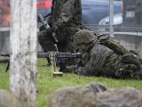 В Силламяэ военные устроили учебные уличные бои