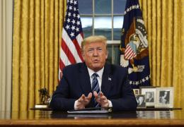 США запретили въезд в страну иностранцев из ЕС на 30 дней