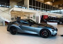 Тартуский коллекционер купил единственную в Эстонии Toyota Supra Limited Edition