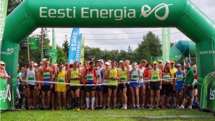 На Нарвском энергетическом забеге ожидается рекордное количество участников