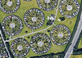 Необычный «город садов» в Дании