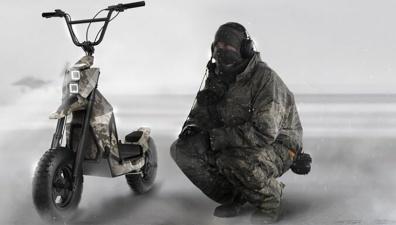 Латвийская компания будет производить военные самокаты