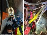 На Тайване поезд врезался в грузовик и сошел с рельсов, не менее 41 человека погибли