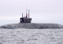 """Новейший """"Борей-А"""" вышел в море на последние испытания"""