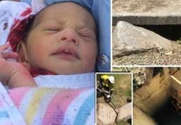 Новорожденный ребенок был спасен велосипедистами