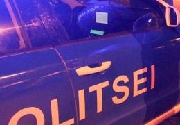 В Ида-Вирумаа BMW с 18-летним водителем перевернулся через крышу