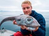 Студент из Норвегии отправился на рыбалку и выловил нечто инопланетное
