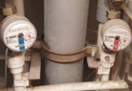 Рабоче-крестьянский способ остановить водомер
