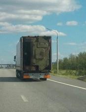 На дороге в Белоруссии