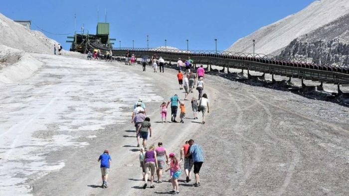 Монте Кали: огромная гора соли в Германии