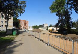 В Нарве строят улицу, у которой пока нет имени