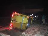 На шоссе Таллинн - Нарва вылетел в кювет ехавший из Петербурга рейсовый автобус: 9 пострадавших