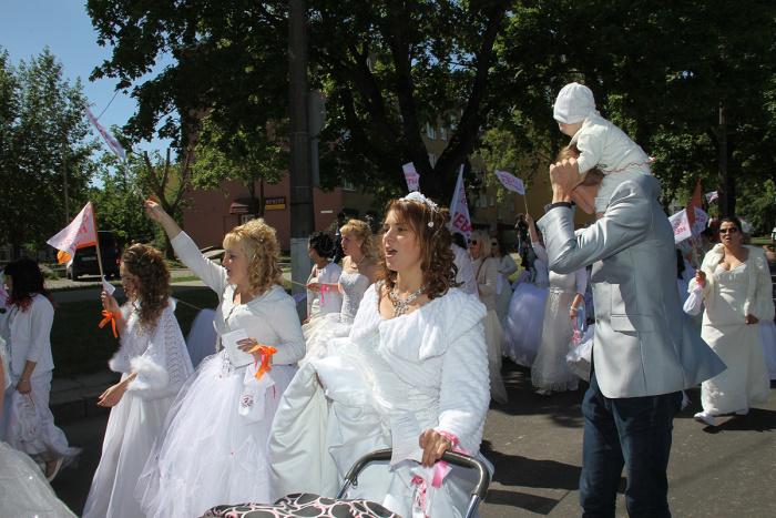 Дневник акции. Праздничное шествие