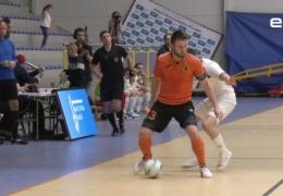 Нарва впервые приняла матч Балтийской футзальной лиги