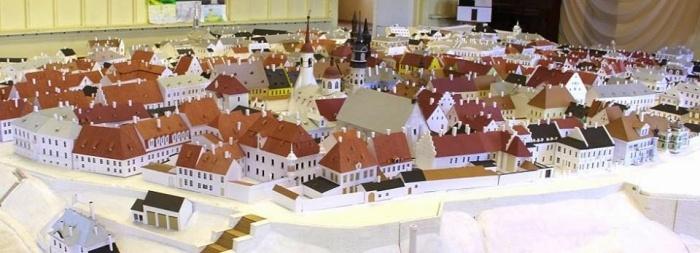 Нарва ищет помещение для знаменитого макета старого города Федора Шанцина
