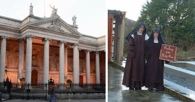 В Ирландии монахини нарушили карантин, чтобы изгнать демонов из парламента