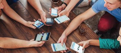Россияне оказались в числе самых активных пользователей соцсетей и видеочатов