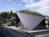 Небольшой загородный дом в старой японской деревне