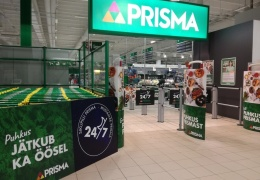 Гипермаркет Prisma в Мустамяэ перешел на круглосуточный режим работы