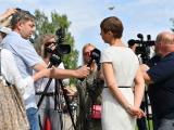 Керсти Кальюлайд встретилась с нарвскими чиновниками и правлением Eesti Energia